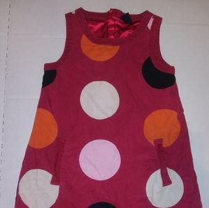 GAP really cute polka dot dress